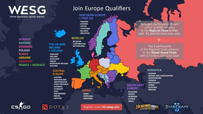 WESG EU & CIS qualifications reach playoffs