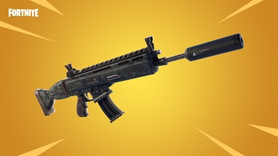 Suppressed Assault Rifle