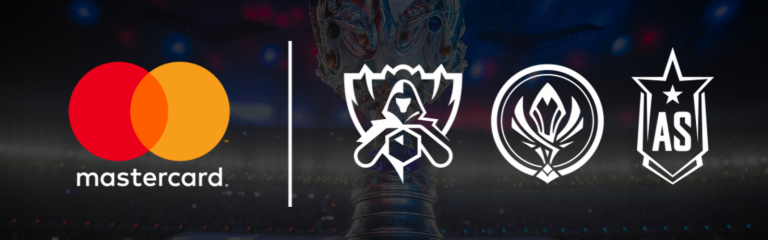 RiotGames add MasterCard as their global sponsor
