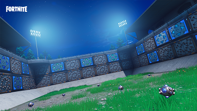Spiky stadium