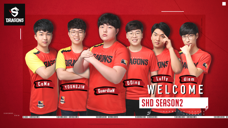 Shanghai Dragons adds 6 new players for OWL Season 2